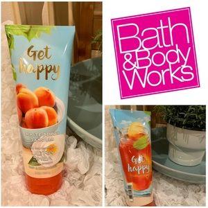 Bath & Body Works Peach Body Butter Cream Lotion